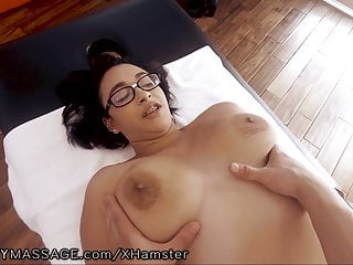 FantasyMassage POV gender Huge sincere Tits Teen!