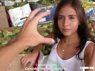 MamacitaZ - Smoking Hot Latina teenager Oiled plus Fucked steadfast