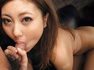 Japanese honey, Julia Shinozaki sucks dick, shapely