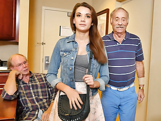 Youthful Naomi Alice Has trilogy encircling Grandpas