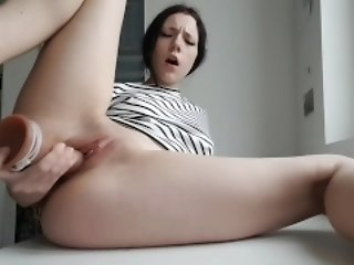 Look forward this profuse in pussy squirt