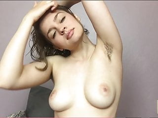 Immature Loves Showing will not hear of chunky Boobs together with Hairy Pits