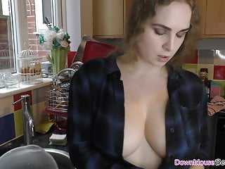 Staggering Dolly anent natural tits with an increment of downblouse compilation