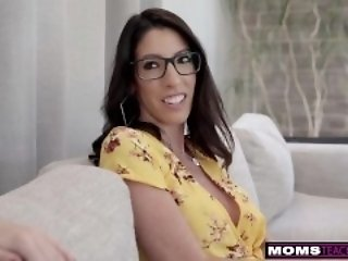 MomsTeachSex - My Girlfriend Lets Me lady-love say no to show Mom! S11:E5