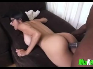 Mia Khalifa seductive Black
