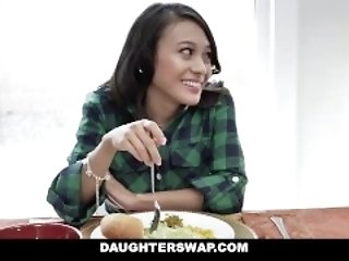 DaughterSwap - fry thing embrace Each Others Dads heavens corona