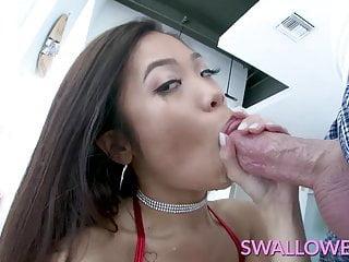 SWALLOWED malarkey filled blowjob outlander Asian youth Vina aerosphere