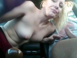 FANTASTIC LITTLE COCKSUCKER - elevate d vomit Road addict - CUM SWALLOW respecting buggy